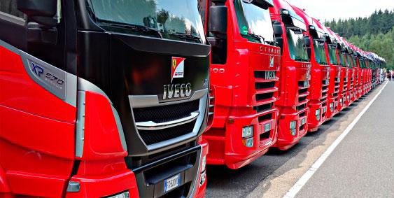 Transport assets